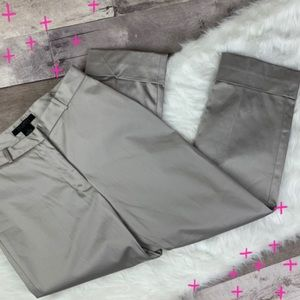NWT The Limited Stretch Khaki folded crops size 0